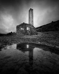 Old Gang Smelt Mill (david.travis) Tags: mill unitedkingdom oldgangsmeltmill england yorkshire derelict reflection puddle yorkshiredales