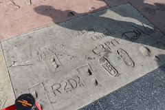 "Darth Vader, C3P0 and R2D2's Prints at the TCL Chinese Theatre • <a style=""font-size:0.8em;"" href=""http://www.flickr.com/photos/28558260@N04/44890245815/"" target=""_blank"">View on Flickr</a>"