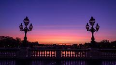 Pont Alexandre III (Daniel_Hache) Tags: soleil pont paris sunrise bridge lever alexandreiii france fr