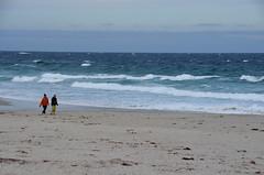 Bundled for a morning walk (afagen) Tags: california pacificgrove asilomarstatebeach montereypeninsula asilomar beach pacificocean ocean