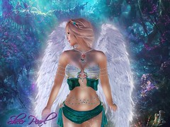 Fairytale (Sheer Pearl) Tags: fairy gloomy glitter secondlife wings fairytale
