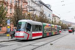 BRN_1949_201811 (Tram Photos) Tags: skoda škoda 13t brno brünn strasenbahn tram tramway tramvaj tramwaj mhd šalina dopravnípodnikměstabrna dpmb