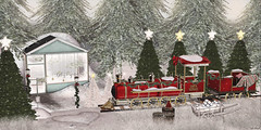 L123 (JoJo Delvalle - Photographer & blogger) Tags: secondlife game virtual 3d snow christmas astralia lagom whimsical littlebranch