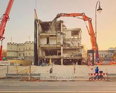 Demolition #abriss #köln #cologne #rudolfplatz #abandoned #platzfürneues #vsco #vscocam #sunrise #sonnenaufgang #baustelle #constructionsite #wrecking