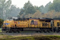 Union Pacific Locomotive AC45CCTE #7512 (pointnshoot) Tags: canonef300mmf28lisiiusm unionpacific locomotive ac45ccte 7512