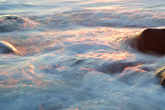 Gold Sea (Jarman Images) Tags: gold light ocean reflected rocks sea shoreham sun sunset water