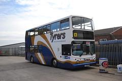 Tyrers Coaches - Chorley (Hesterjenna Photography) Tags: lj03msy bus coach psv tyrers bolton chorley lancs lancashire adlington daf alexander alexanderdennis arrivalondon arriva