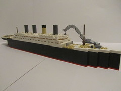 RMS Olympic Fitting Out 2 (Cormac2000) Tags: olympic titanic rms lego white star line ship hmt 1911 ocean liner belfast