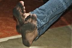 dirty feet - indoor 726 (dirtyfeet6811) Tags: feet soles barefoot dirtyfeet dirtysoles