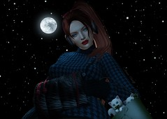 All of the Stars (Arwen Clarity) Tags: sllooksgoodtoday secondlife sl slblog pose people 2ndlife second life mesh maitreya blogs blog blogger bloggers blogging kittens purse blackbantam narcisse leluck tableauvivant neve stars moon