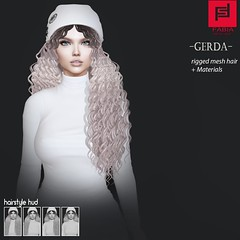Gerda (FABIA.HAIR) Tags: seduction 3d fashionlook fashion virtual virtuallife mesh meshhair hair rigged beauty look piktures fabia nice meef head special sl second secondlife sweet event hairstyle style life lovely avatar spam shopping new release best love everyday art shop women locks girl