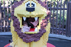 "Scott inside a Lego lion • <a style=""font-size:0.8em;"" href=""http://www.flickr.com/photos/28558260@N04/45567234044/"" target=""_blank"">View on Flickr</a>"