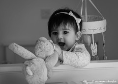 The best subject for a photoshopt on a lazy Friday morning (manankhosla) Tags: fathersangel babyphotography