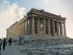 The Acropolis #6 (jimsawthat) Tags: enhanced ancient stone ruins acropolis parthenon scaffolding architecture urban athens greece