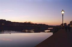 Florence 31.12.2018 (michele.palombi) Tags: florence 31122018 analogic 35mm sunset river arno