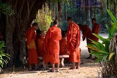 IMGP2068 Buddhist monks (Claudio e Lucia Images around the world) Tags: watbo siemreap cambodia cambogia monk monks buddha buddhist monastery pagoda pentax pentaxkp pentax18135 pentaxlens pentaxart pentaxcamera