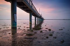 Seebrücke (martha hoo) Tags: water balticsea ostsee wasser brüse longexposure urban landscape landschaft