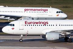 D-AIZQ Eurowings Airbus A320-214 (buchroeder.paul) Tags: dus eddl dusseldorf international airport germany europe daizq eurowings airbus a320214 ground germanwings