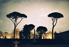 Ce que Mercure voit de la villa Médicis - Mercury's point of view (Max Sat) Tags: analog arbre chiaroscuro film fuji italia italie italy kodak legacylens leica leicar5 lumières maxsat maxwellsaturnin night nightlights nuit ombre portra portra400 r5 rome shadow statue summilux summiluxr5014 tree villamedici villamédicisanalogfilmitaliaitalieitalykodaklegacylensleicaleicar5maxsatmaxwellsaturninportraportra400r5romaromesummiluxsummiluxr5014