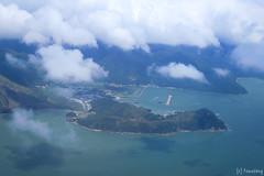 Tai O (tomosang R32m) Tags: 大澳 taio hkexpress 香港エクスプレス 香港 飛行機 airplane 香港国際空港 香港國際機場 hongkonginternationalairport hongkong aerialview