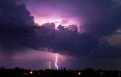 Midnight Thunderstorm (BenedekM) Tags: thunder thunderstorm slovakia home midnight morning nikon nikond3200 d3200 clouds cloudy nightsky night lights rays village hungarian slovakian sigma1750f28 nikon1855mmf3556vrii nature evening sky landscape panorama