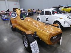 P1190340 (MisterQque) Tags: coastalvirginiaautoshow carshow autoshow logcar customizedcar wackycar