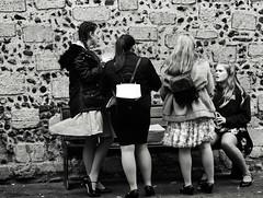 Bench Life (Bury Gardener) Tags: bw blackandwhite monochrome mono 2018 england eastanglia uk britain burystedmunds suffolk streetphotography street streetcandids snaps strangers candid candids people peoplewatching folks cornhill