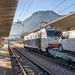 Treno Merci nella stazione di Trento