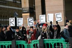 Extinction Rebellion - 17 November 2018 (The Weekly Bull) Tags: climatechange extinctionrebellion london rebellionday waterloobridge blockade civildisobedience demonstration environment fossilfuel fracking globalwarming occupation protest renewableenergy