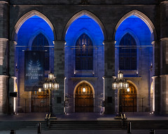 Notre-Dame Basilica (1829), v01, 110 rue Notre-Dame O, Montreal, QC, Canada (lumierefl) Tags: montreal quebec canada can northamerica frenchcanada architecture building religion religious church christian catholic basilica gothicrevival night 1820s 19thcentury