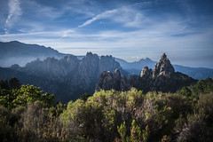 Corse (Janis Sabanovs) Tags: corse gr20 hiking nature montains light track blue