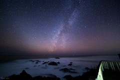 Winter Coastal Milky Way (ryanl1251) Tags: milkyway milky way nature outdoors ocean coast stars astrophotography nightscape photography night sky adventures long exposure canon canon6d ryan lin california pacific