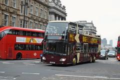 Anhui Ankai (PD3.) Tags: london bus buses england uk sight seeing sightseeing psv pcv open top topper topless tour tourbus anhui ankai an334 an 334 lx12 azl lx12azl big bigbus