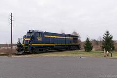 ESPN 3153 @ Quakertown, PA (Dan A. Davis) Tags: eastpennrailroad espn eastpenn b237 railroad train langhorne freighttrain quakertown pa pennsylvania