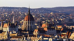 Budapest Parliament seen from the Cupola of St. Stephen's Basilica (Normann) Tags: hungary budapest basilica parliament