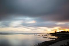 The Foreshore (markjones bris) Tags: sunrise water clouds bay longexposure foreshore wynnum