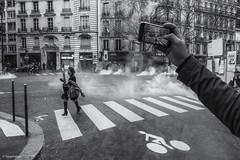Where's the revolution (sdupimages) Tags: giletsjaunes monochrome parisian parisienne paris candid blackwhite noirblanc noiretblanc nb bw révolution manifestation rue street revolution