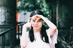 https://www.instagram.com/kaku_foto/ (カク チエンホン) Tags: film fuji contax g2 girl portrait people taiwan taipei p