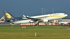 VT-JWP (AnDyMHoLdEn) Tags: jetairways a330 egcc airport manchester manchesterairport 05l