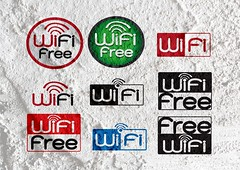 wifi icons for business on wall texture background (www.icon0.com) Tags: access area available blue communication computer concept connect contact data device digital electronic free hotspot information internet mobile modem network online public service sharing sign signal spot station surfing symbol technology web website wifi wireless zone cement wall texture background