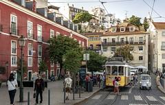 Lisbon, Portugal (Bela Lindtner) Tags: lindtnerbéla belalindtner nikon d7100 nikond7100 nikkor 18105 nikkor18105 nikon18105 lisboa lisbon lisszabon portugal portugália street buildings building architecture tram outdoor outside people tree építészet épületek utca
