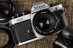 Nikon FM2N (martin wilmsen) Tags: nikon 35mm 35mmfilmcamera vintagenikon d850 strobist elinchrom elc1000 105mm studio skyport strobelight tabletop productshot productphotography cameracollection 50mmaislens