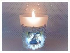 Wedding candle (Hannelore_B) Tags: kerze candle hochzeit wedding curiouscandles smileonsaturday