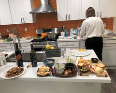 020 The Food Is Prepared (saschmitz_earthlink_net) Tags: 2018 california southerncaliforniagrotto christmasparty losangelescounty baldwinhills windsorhills party climbing practice