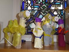 Kitchen Roll Nativity1 (g crawford) Tags: westkilbrideparishchurch westkilbride wkpc ayrshire northayrshire church nativity scene nativityscene toiletroll bogroll christmas toys shepherds wisemen magi manger