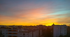 Colors (MAKER Photography) Tags: sunset skyline munich germany colors colours sky clouds smartphone phone mobile oneplus 3