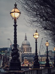 Saint-Paul at last light (marc.barrot) Tags: urbanlandscape skyline uk se1 london lambeth riverthames southbank saintpaulcathedral