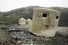 Kimmeridge Bay (jimj0will) Tags: kimmeridgebay dorset beach lethal photofold ww2 defence pillbox hero home guard invasion war