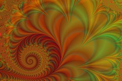 112a: Pfauenfederspirale (Jo&Ma) Tags: fractalsgrp fractal fractalart computergraphics nature organic selbstähnlichkeit expandingsymmetry selfsimilar illustration iteration mathematics imaginärezahlen computerbasedmodelling geometric patterns