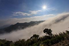 雲瀑 (sic Chiu) Tags: 隙頂 雲海 雲瀑 6d 嘉義 竹崎鄉 星芒 阿里山國家公園 ef1635mm